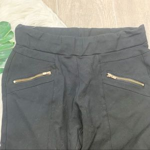 Guess Pants - Guess Black Skinny Stretch Zip Pocket Pants 3085